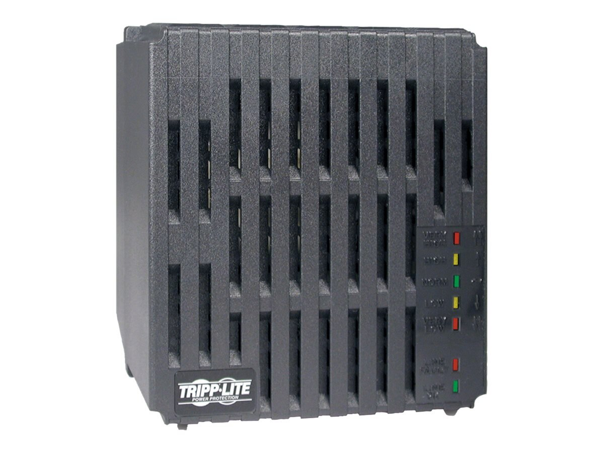 Tripp Lite Line Conditioner with Automatic Voltage Regulation, 120V, 2400W, (6) Outlets