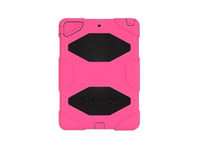 Griffin Survivor Rugged case for iPad Air Pink Black, GB36402, 16231815, Carrying Cases - Tablets & eReaders