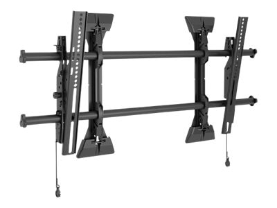 Chief Manufacturing X-Large Fusion Micro-Adjustable Tilt Wall Mount for 55-82 Displays, Black, TAA Compliant