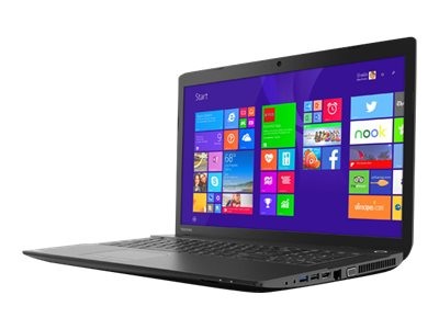 Toshiba Satellite C75-B7180 Core i3-4005U 1.7GHz 4GB 500GB DVD SM bgn GNIC BT WC 6C 17.3 HD+ W8.1, PSCL4U-03S06L, 30657185, Notebooks