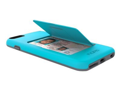 Incipio Stowaway Case for iPhone 6 Plus, Blue Gray