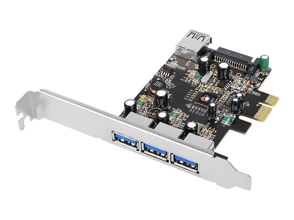 Siig USB 3.0 4-Port PCIe i e VL Card