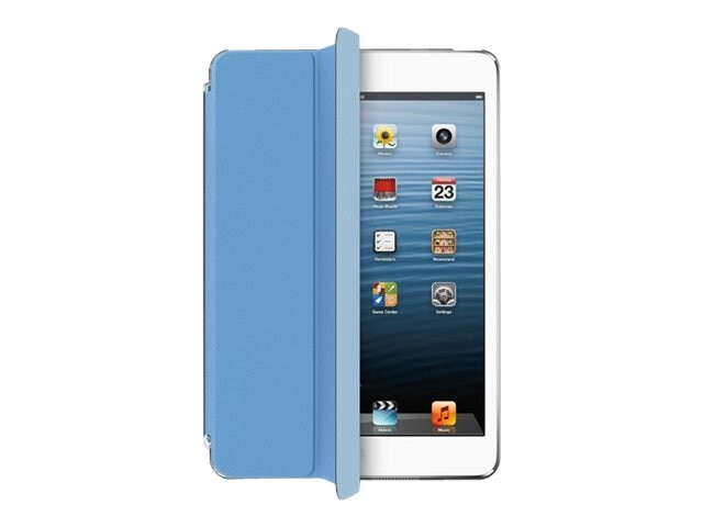 Aluratek Slim Color Smart Case for iPad mini, Sky Blue
