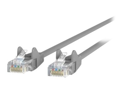 Belkin Cat6 UTP Patch Cable, Gray, Snagless, 6ft