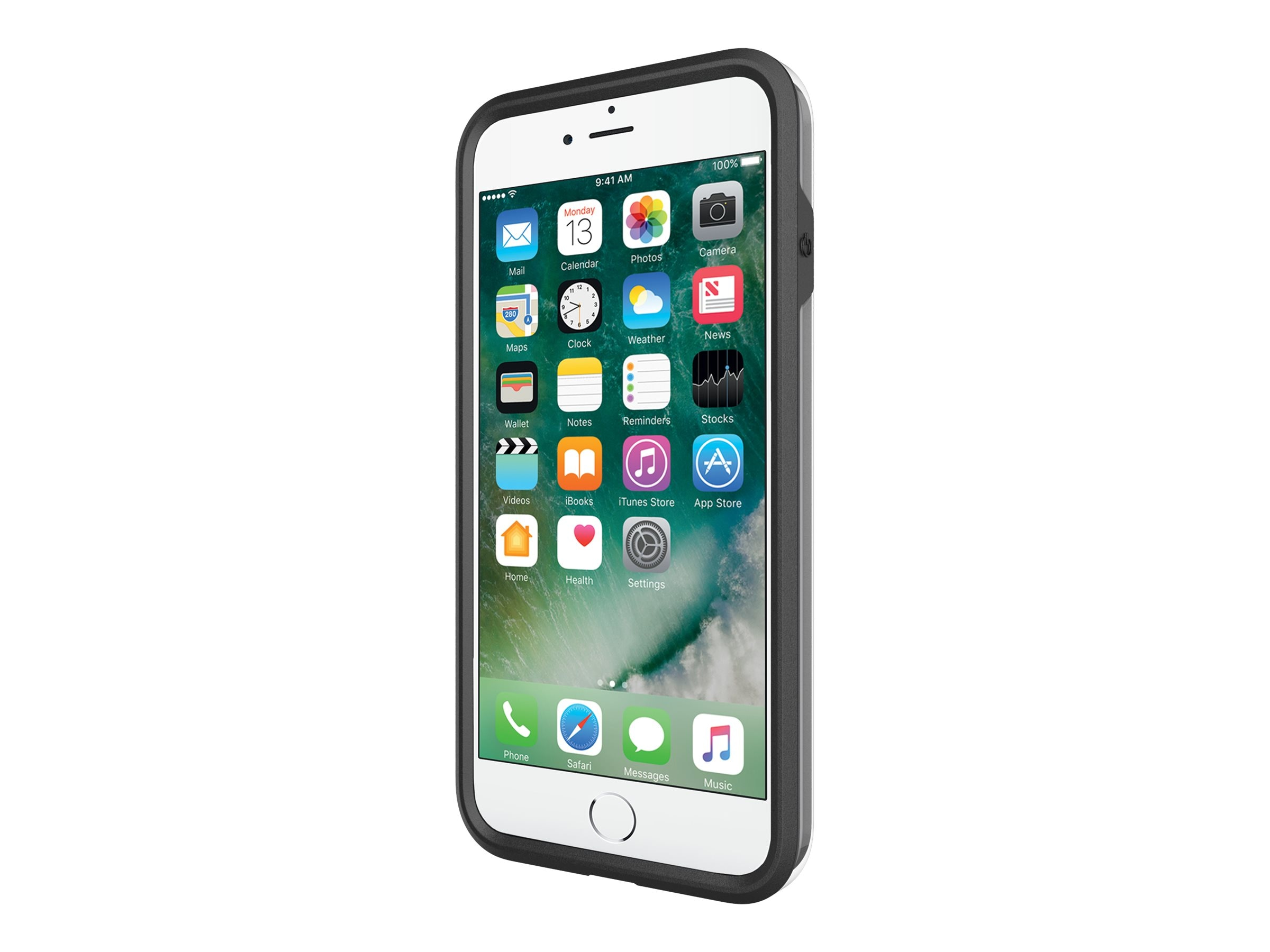 Incipio Performance Series Ultra Case for iPhone 7 Plus, Black Gray