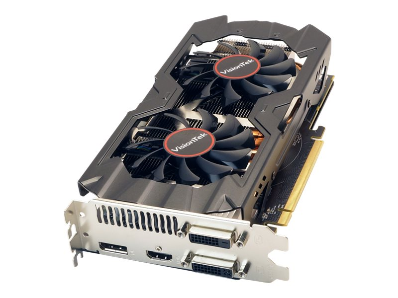 VisionTek Radeon R9 380 PCIe Graphics Card, 2GB GDDR5, 900808, 23619172, Graphics/Video Accelerators