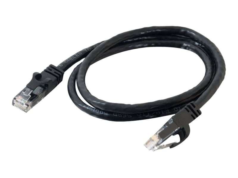 C2G Cat6 Snagless Unshielded (UTP) Network Patch Cable, Black, 5ft, 31342, 5852384, Cables