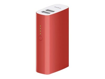 Belkin Mixit Up Power Pack 4000mAh, Red, F8M979BTRED