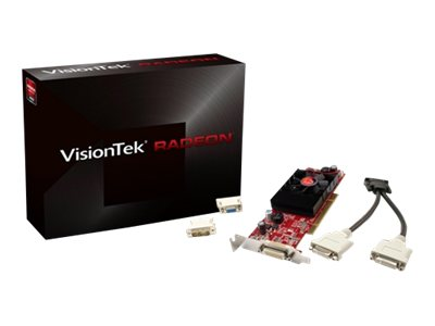 VisionTek Radeon HD 3450 PCI Graphics Card, 512MB DDR2, 900292, 10550639, Graphics/Video Accelerators