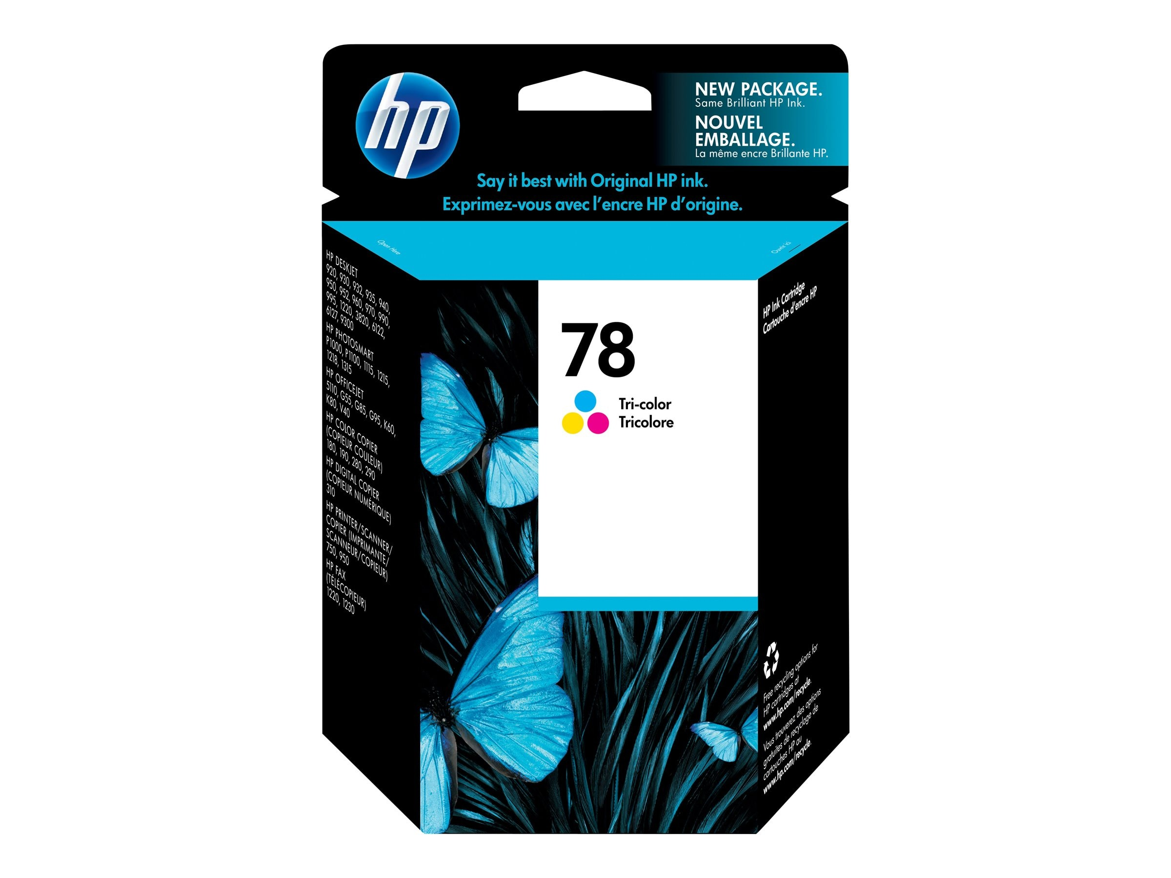 HP 78 (C6578DN) Tri-color Original Ink Cartridge