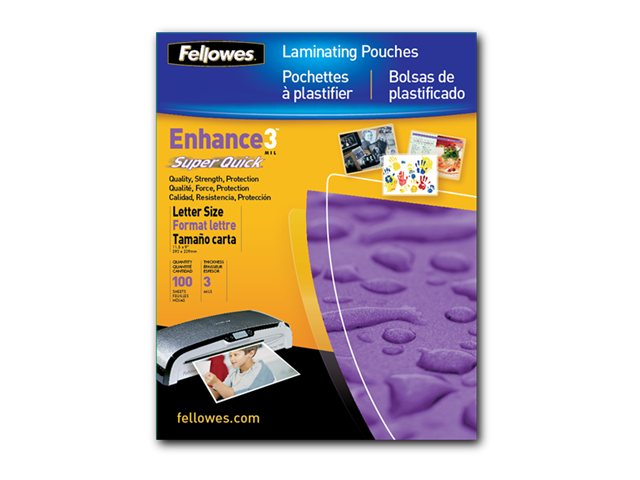Neato Laminating Pouch, Letter 11.5 x 9, 3mil, 100-Pack