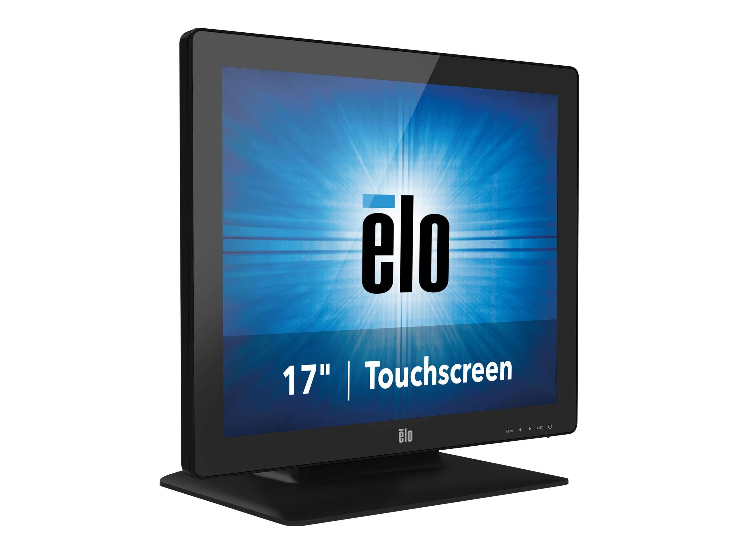 ELO Touch Solutions 17 1723L LCD IntelliTouch Pro PCAP Monitor, Black, E683457