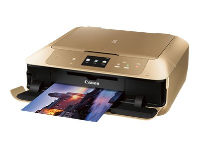 Canon PIXMA MG7720 Photo All-In-One Inkjet Printer - Gold, 0596C062