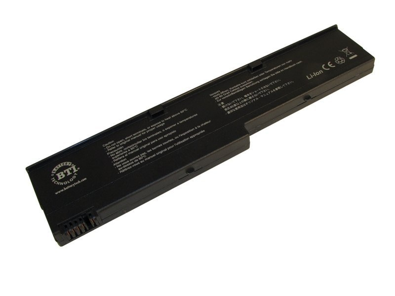BTI Battery, Lithium-Ion, for Lenovo ThinkPad X40, X41, 92P0998, 92P1148, IB-X40, 7505749, Batteries - Notebook