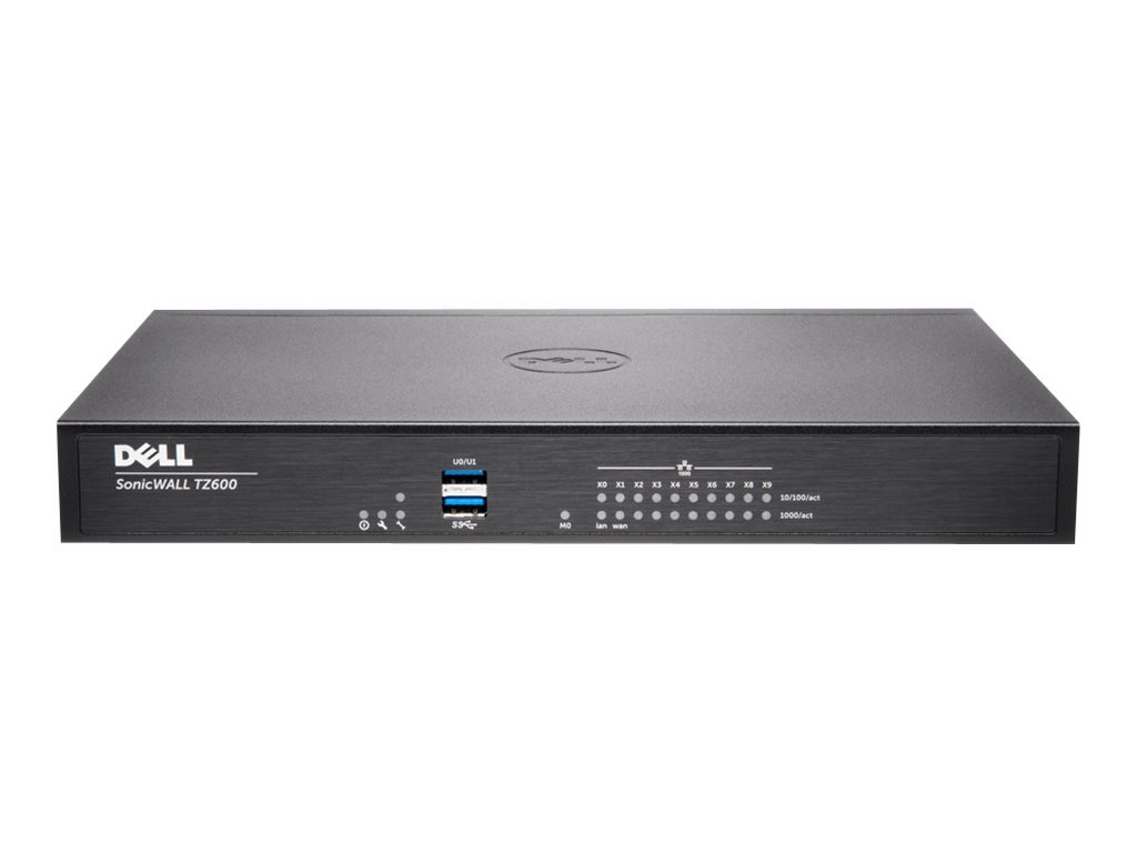 SonicWALL SonicWALL TZ600 Firewall with Secure Upgrade Plus (3 Years), 01-SSC-0223