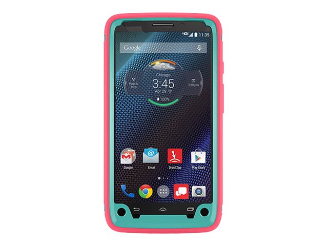 OtterBox Defender Series for Motorola Droid Turbo, Teal Rose II, 77-50180, 18381850, Carrying Cases - Phones/PDAs