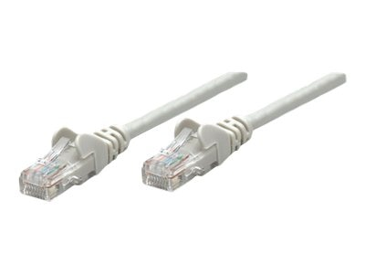 Intellinet Cat5e 350MHz Patch Cable, Gray, 100ft
