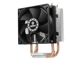 Enermax ETS-N30R-HE CPU Cooler with High-Efficiency 9cm Fan and PWM Control, Black, ETS-N30R-HE, 31506629, Cooling Systems/Fans