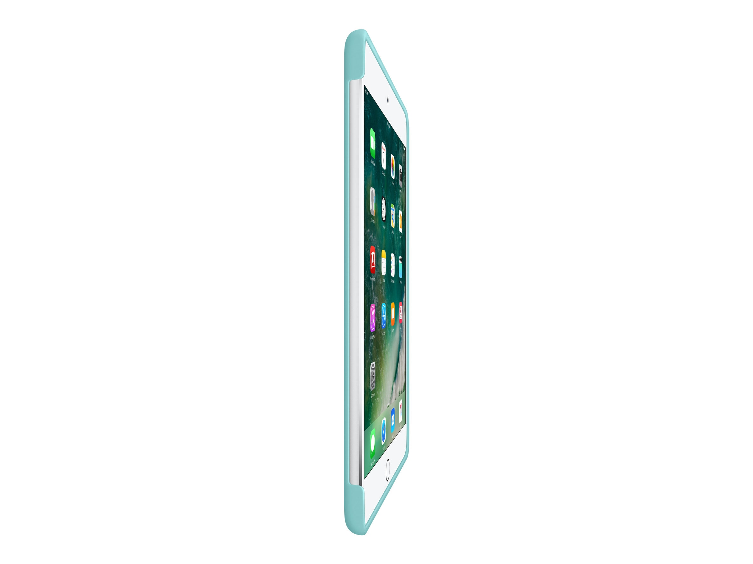 Apple Silicone Case for iPad mini 4, Sea Blue, MN2P2ZM/A, 32669139, Carrying Cases - Tablets & eReaders