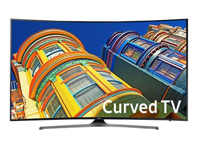 Samsung 48.5 KU6500 4K Ultra HD LED-LCD Curved TV, Black, UN49KU6500FXZA