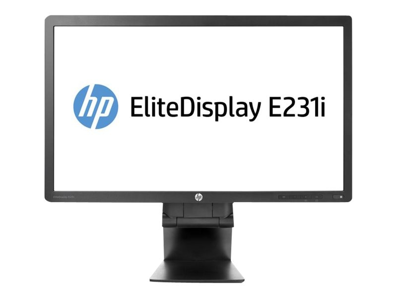 Open Box HP 23 E231I Full HD LED-LCD Monitor, Black, F9Z10A8#ABA, 18196486, Monitors - LED-LCD