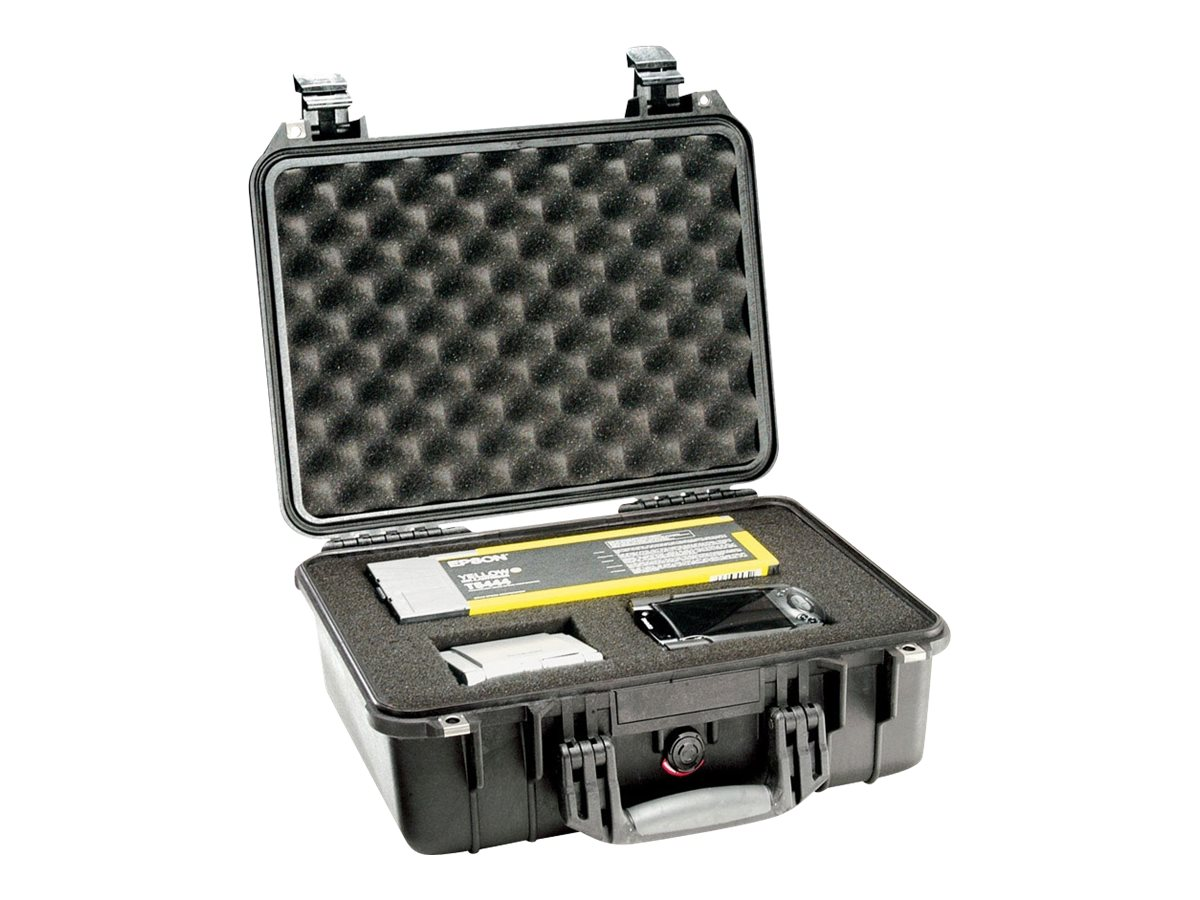 Pelican 1450 Case with Foam, Black, 1450-000-110, 9760137, Carrying Cases - Other