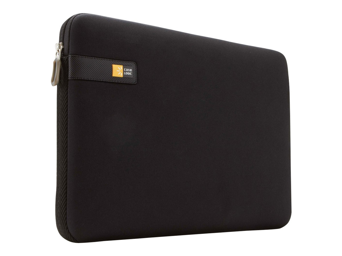 Case Logic 14 Laptop Sleeve, Black, LAPS-114BLACK, 12623109, Protective & Dust Covers