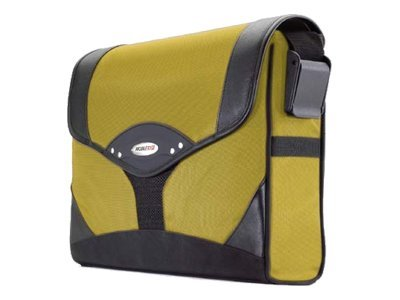 Mobile Edge Select Messenger, Yellow Black, 1680D Ballistic Nylon, MEMS04, 6101232, Carrying Cases - Notebook