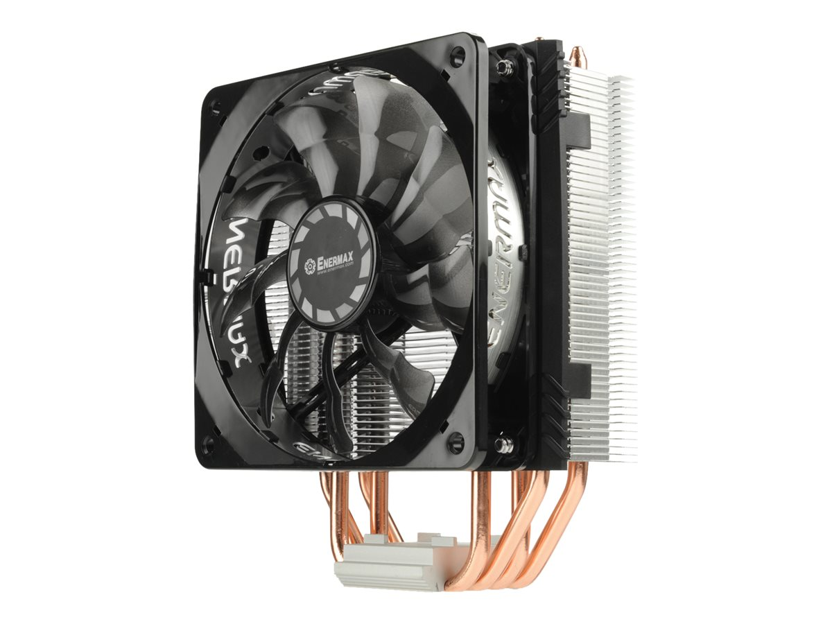Enermax Side Flow Air CPU Cooler Fan LGA 1151 200W TDP 12cm, ETS-T40F TB