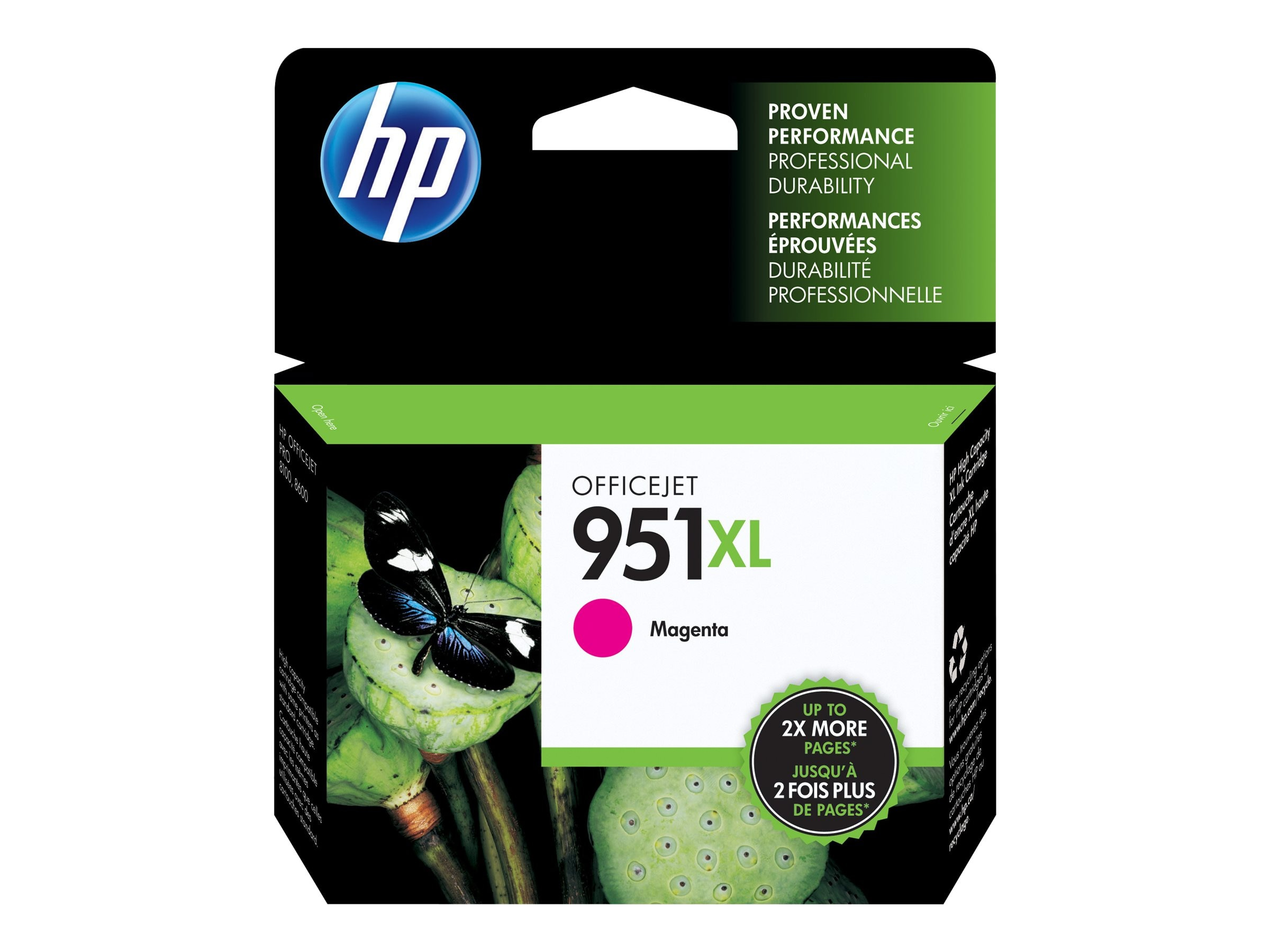 HP 951XL (CN047AN) High Yield Magenta Original Ink Cartridge