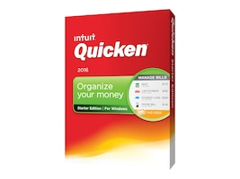 Intuit Quicken Starter Edition 2016, 426760, 31009745, Software - Financial