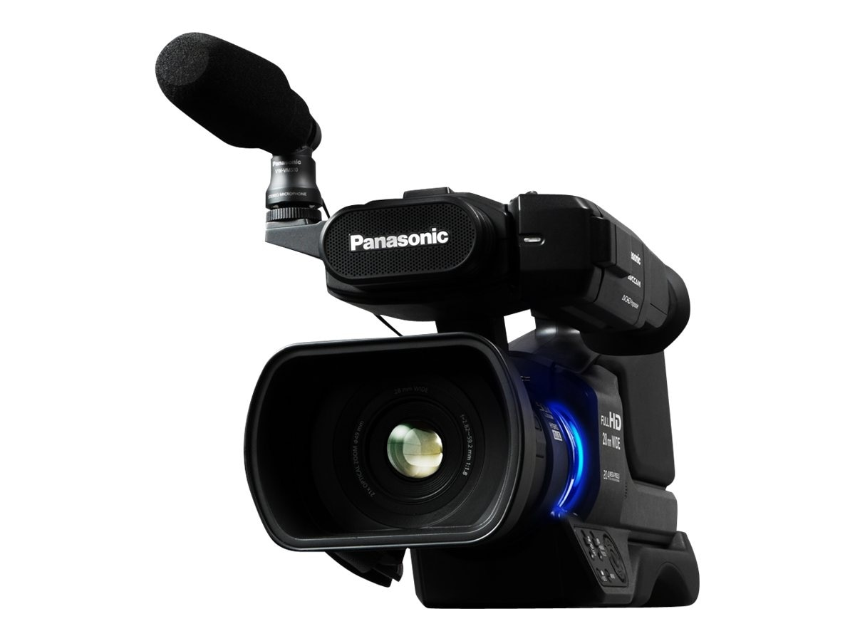Panasonic AVCCAM HD Shoulder-Mount Camcorder, Black, AG-AC8PJ