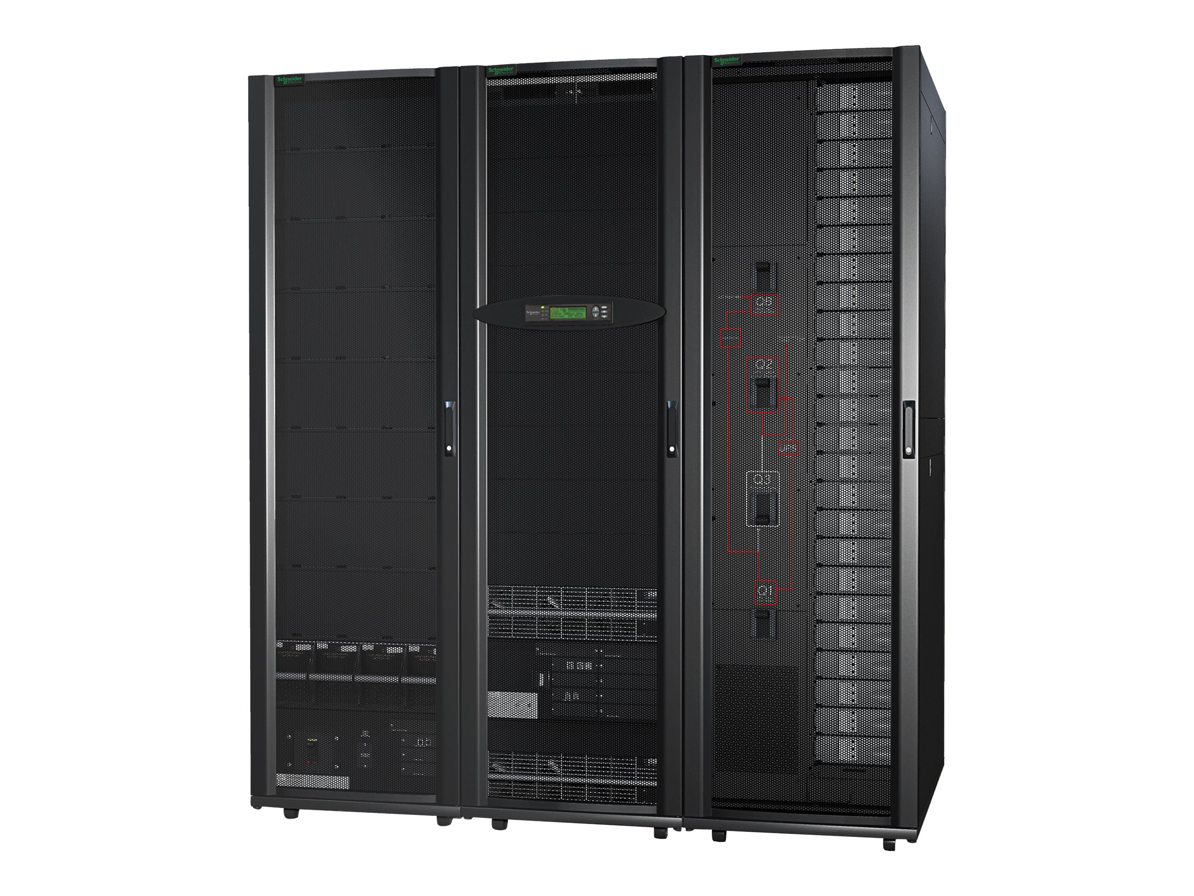 APC Symmetra PX 10kVA 10kW Scalable to 100kW N+1, 208V w  Startup, SY10K100F, 30811699, Battery Backup/UPS