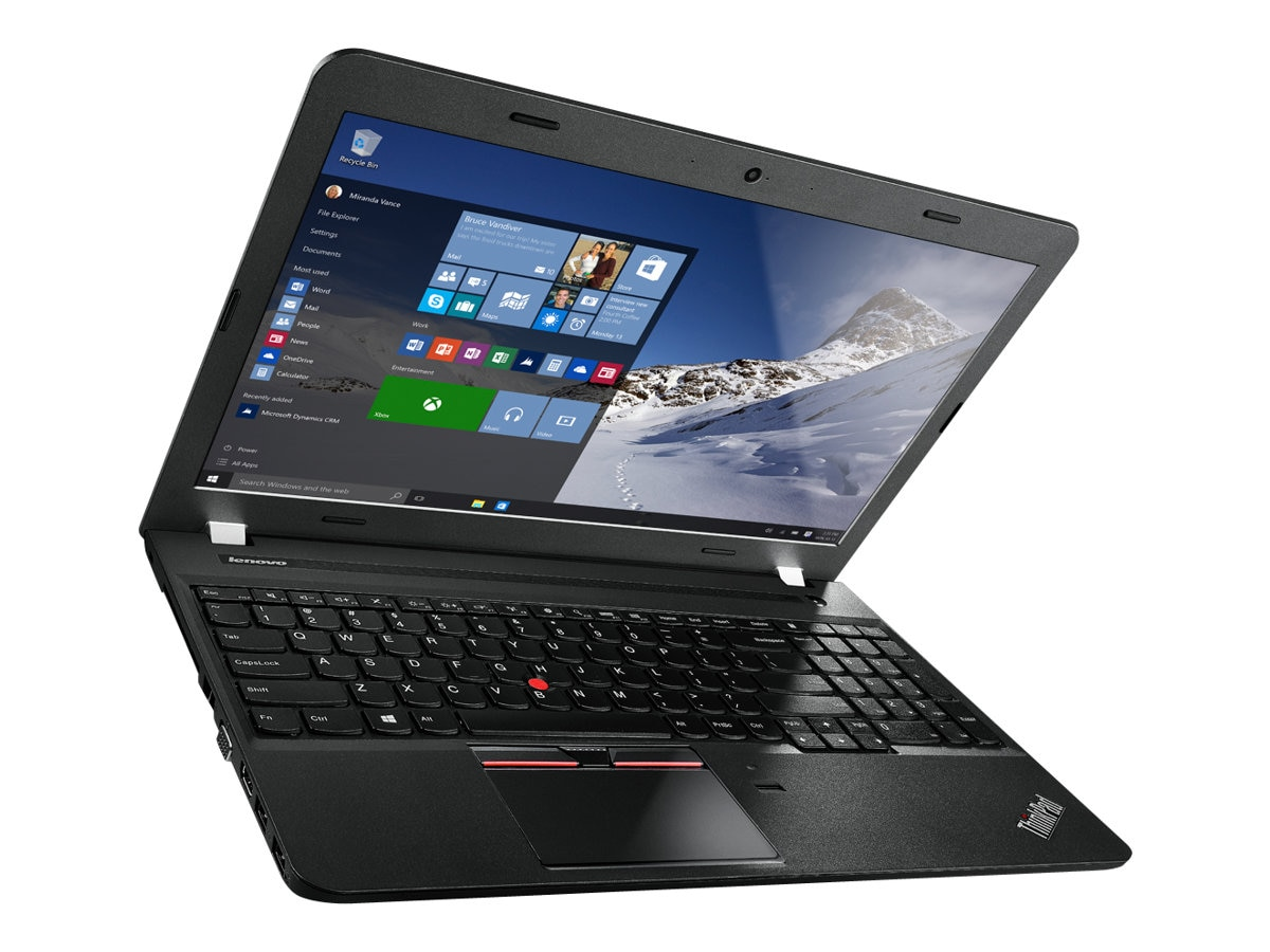 Lenovo TopSeller ThinkPad E560 2.3GHz Core i5 15.6in display, 20EV003VUS