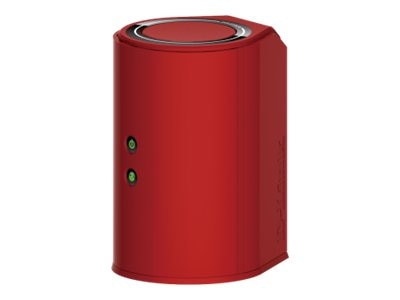 D-Link Wireless AC750 Dual Band Gigabit Cloud Router, Red