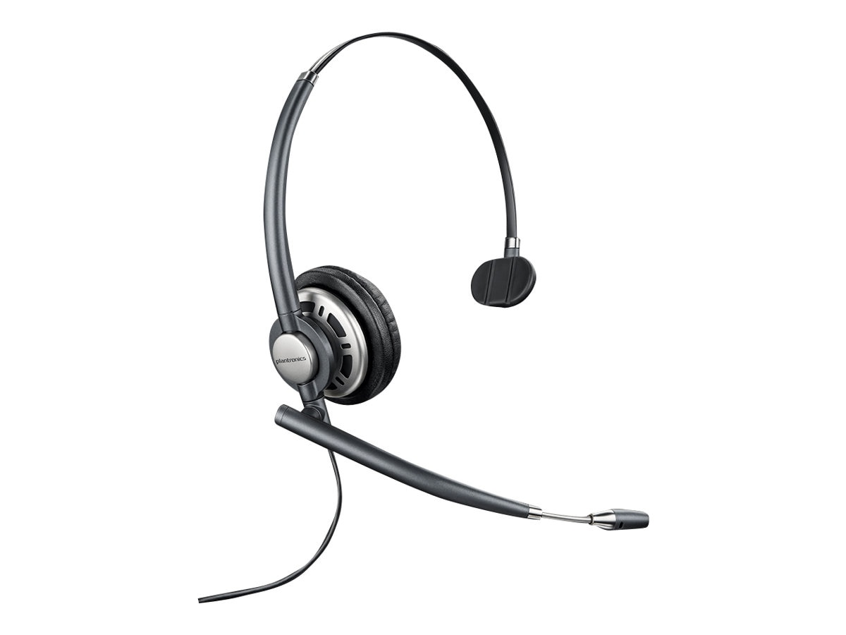 Plantronics HW710 Encore Pro Monaural Corded Headset, 78712-101, 18111956, Headsets (w/ microphone)
