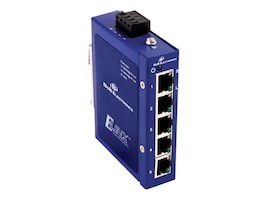 Quatech Unmanaged 10 100 5-port Compact Ethernet Switch, ESW105, 14487737, Network Switches