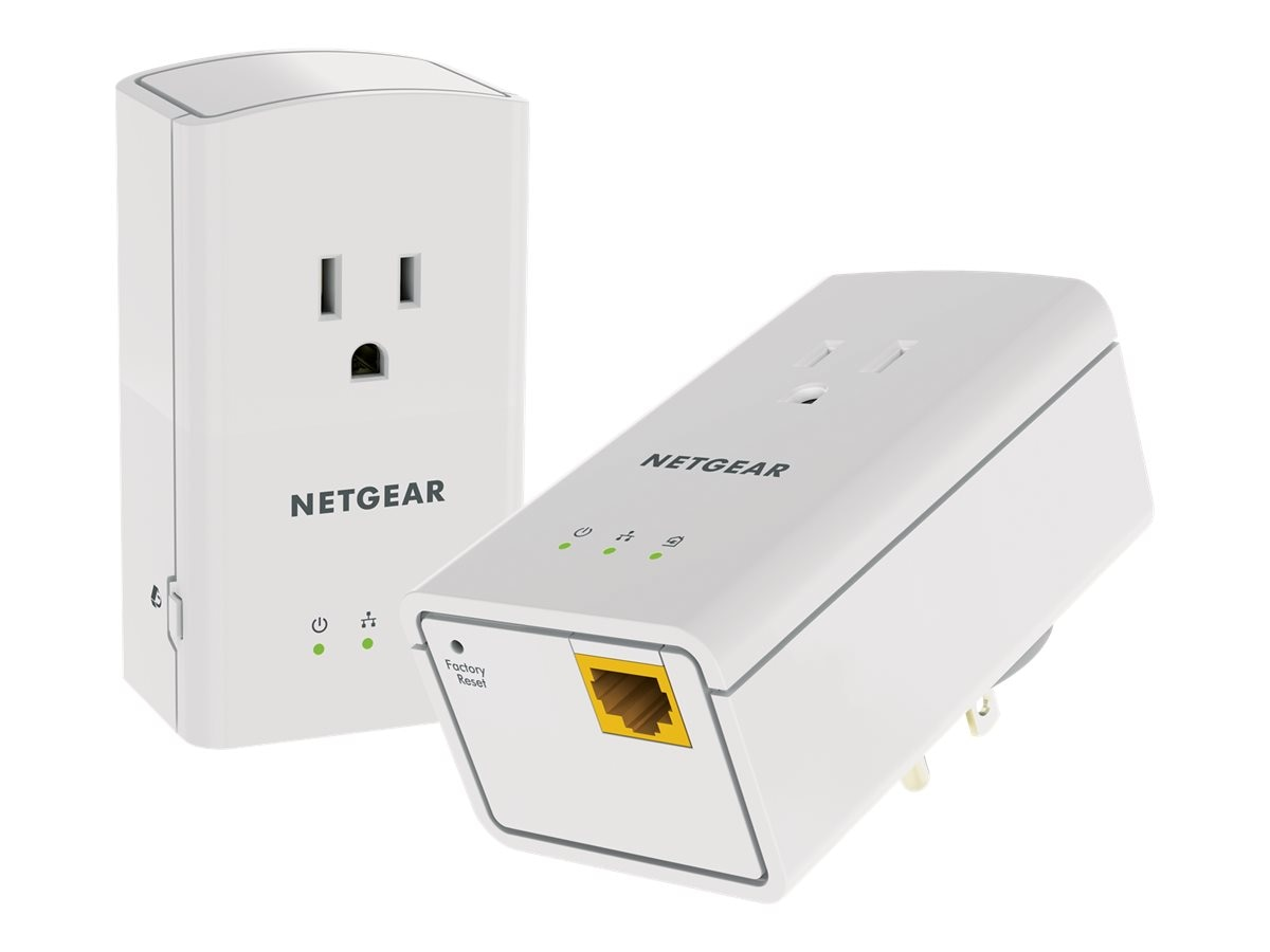 Netgear Powerline 500 Plus Extra Outlet, XAVB5421-100PAS, 18025361, Network Starter Kits