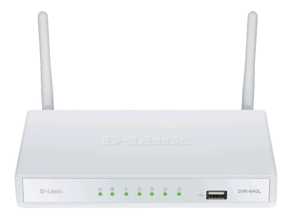 D-Link DIR-640L Wireless N300 VPN Router, DIR-640L, 14999249, Network Routers