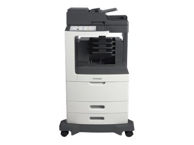 Lexmark MX811dme Monochrome Laser Multifunction Printer, 24T7422