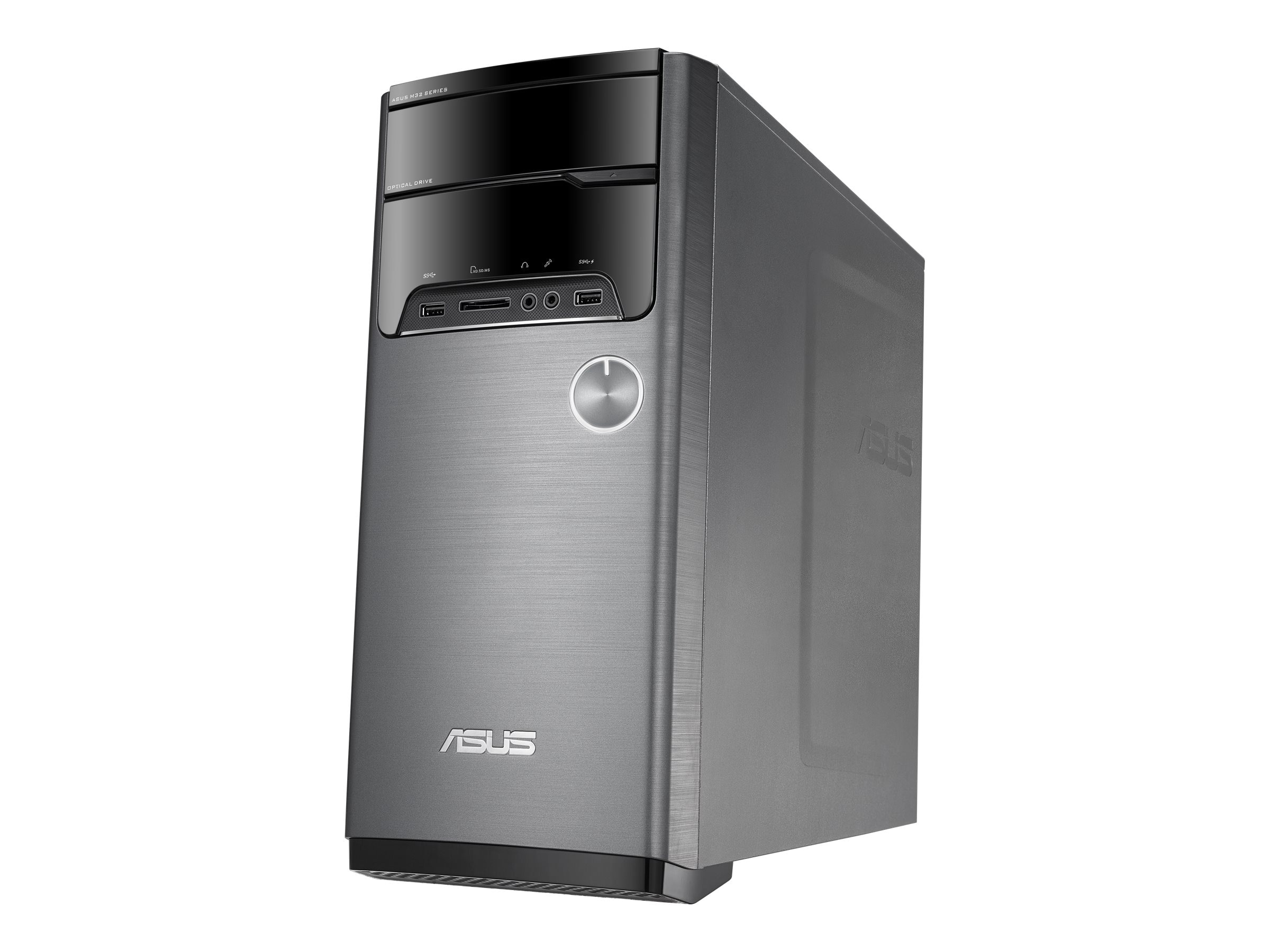 Asus Desktop PC AMD A10-7800 16GB 3TB, M32BF-US011S, 17793836, Desktops