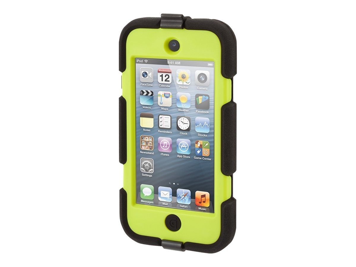 Griffin Survivor All Terrain Case for iPod Touch 5, GB35698-3, 18465050, Carrying Cases - iPod