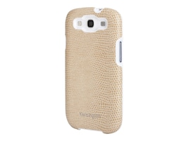 Kensington Vesto Leather Texture Case for Samsung Galaxy S III, Coffee, K39622WW, 14990017, Carrying Cases - Phones/PDAs