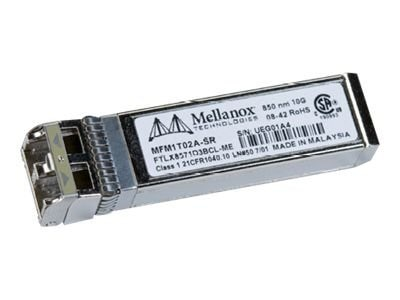 Mellanox Active Optical SFP+ Transceiver Module 10GBase-SR - LC, MFM1T02A-SR, 13092215, Network Transceivers