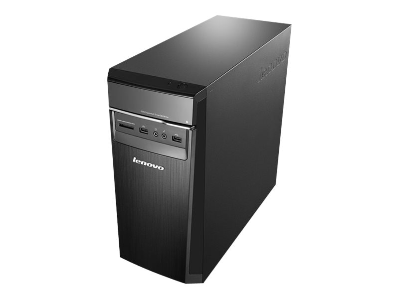 Lenovo H50 Desktop PC A6-6310 4GB 1TB W10, 90BH0037US, 30553482, Desktops