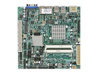 Supermicro Motherboard, Mini-ITX NM10 Atom DC N2800 1.8GHz Max.4GB DDR3 SATA Mini PCIe 2xGbE