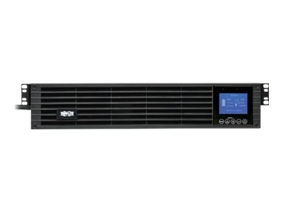 Tripp Lite SmartOnline 2.2kVA 1.98kW 208 230V Double-Conversion UPS, 2U, Ext. Run, LCD, USB, DB-9, Energy Star, SUINT2200LCD2U