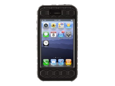 Griffin Explorer Extended Duty Case for iPhone 4, Black, GB02625, 13510659, Carrying Cases - Phones/PDAs