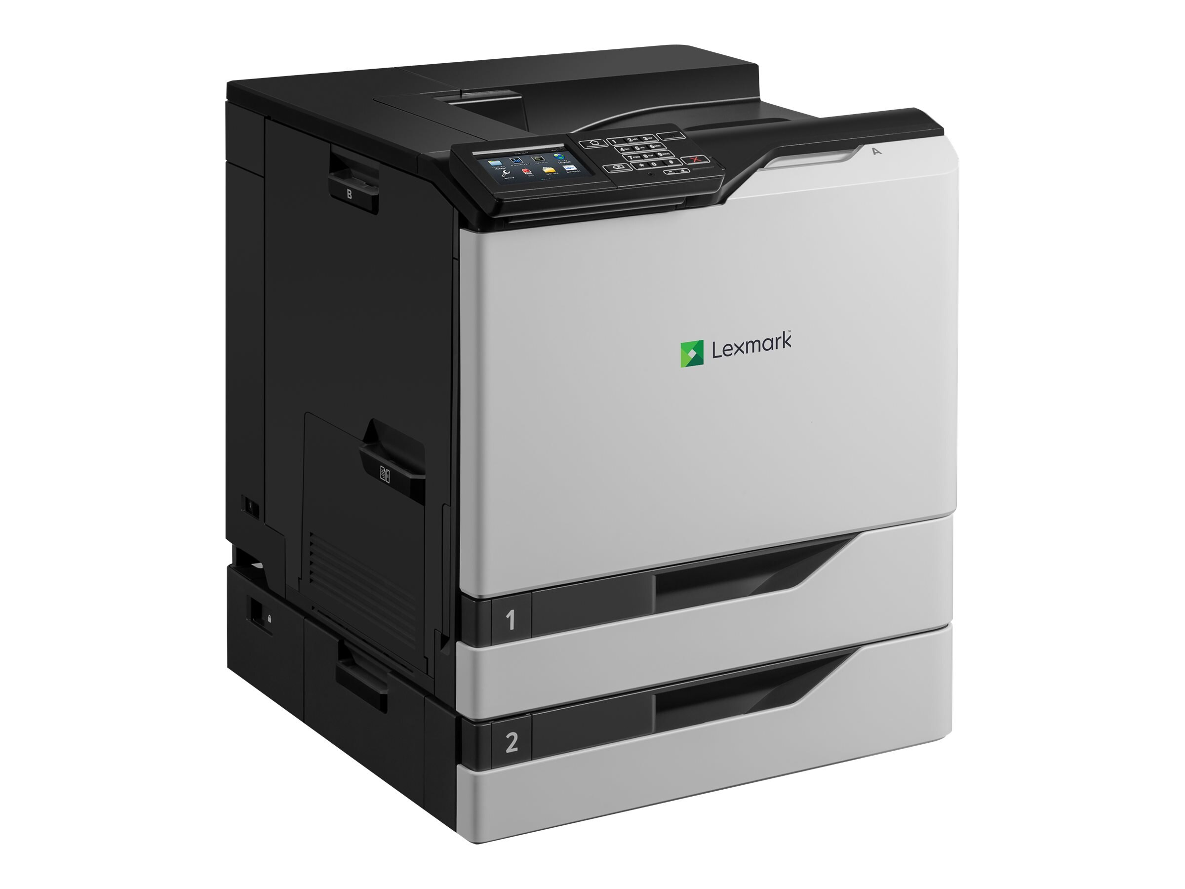 Lexmark CS820dte Color Laser Printer (TAA Compliant), 21KT004
