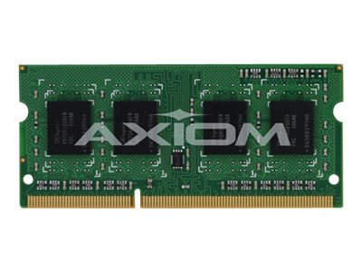 Axiom 4GB PC3-12800 DDR3 SDRAM SODIMM for Select Models, H6Y75AA-AX, 16358568, Memory